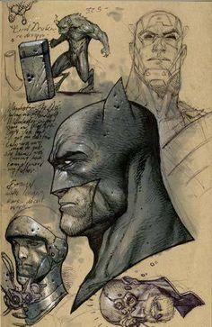 Batman & Captain America by Stephen Platt Comic Book Characters, Comic Book Heroes, Comic Character, Comic Books Art, Book Art, Character Design, Batman Art, Batman And Superman, Batman Robin
