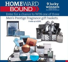 MILITARY! Enter To Win A Men's Fragrance Gift Basket