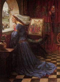 Pre Raphaelite Art: Fair Rosamund John William Waterhouse 1917