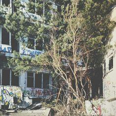 Off the beaten path.  #travel #Gdynia #Poland #abandoned