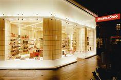 Stiefelkönig boutique, Vienna   Interior   Projects   BWM Architekten und Partner