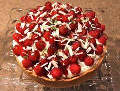 Key Lime and Raspberry Dessert - Gazing Upward