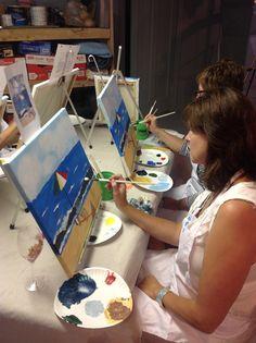 Symington Birthday Painting Party!!!  Hosted by Bottle & Bottega, La Grange