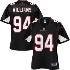 womens arizona cardinals xavier williams nfl pro line black alternate jersey 99.99