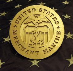 United States Merchant Marine Plaque - pinned by pin4etsy.com