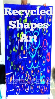 Recycled Shapes Art