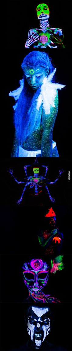 Glow in the dark for halloween