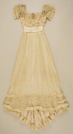 Dress, Evening  Date: 1906–9 Culture: American