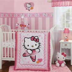Hello Kitty Ballerina Bedding by Bedtime Originals - Hello Kitty Baby Crib Bedding - 217003v