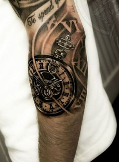 watch mechanism tattoo