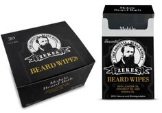 Beard Wipes - Travel/Refill Bundle - Unscented