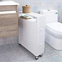Sobuy Frg51 W Meuble De Rangement A Roulettes Wc Porte Papier Toilettes Porte Brosse Wc Armoire Roulante En 2020 Meuble Rangement Meuble Rangement Papier Rangement