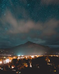 Starry nights and mountain lights.  @visitcolorado @visitgcb #ColoradoLive by jordanherschel