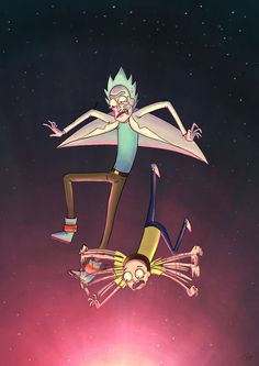 Rick and Morty on Adult Swim :] this is without out a doubt my most repinned pin. Like everytime I open pintrest its about this.