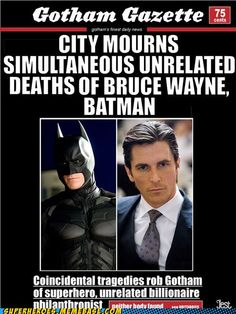 What a coincidence... Batman killed in nuclear explosion Bruce Wayne disappears suddenly. #batman #superman