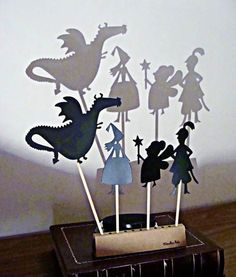 Fun with shadow puppets! You can do these with kids of all ages. I did them with two and three year olds. While the cognitive ability to figure out the idea of the shadow, etc, was very different, everyone still had fun doing them.