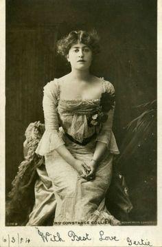 British Actress CONSTANCE COLLIER 1904