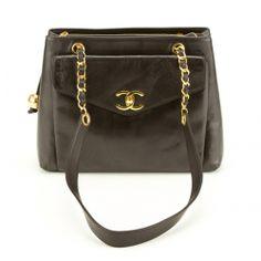 Chanel Black Lambskin Shoulder Bag (Authentic Pre Owned) - 1927018