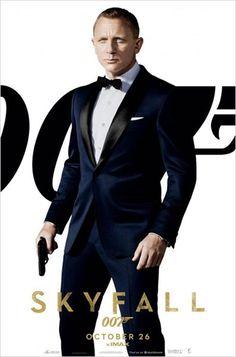 Estreno de 'Skyfall', la nueva entrega de James Bond con Daniel Craig. #DanielCraig #Skyfall #SensaCine   http://www.sensacine.com/peliculas/pelicula-145646/