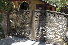 front gates - laser cut screens - Google Search