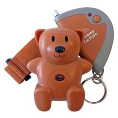 Mommy I'm Here Child Locator device can be mounted to a child's shoe or belt. Ideal for crowded malls or airports. If your child strays just press the button on your keychain and the teddy bear will produce an audible alert. Baby Safety, Child Safety, Honest Baby Products, Teddy Bears For Sale, Surveillance Equipment, Gps Tracking Device, Maternity Shops, Assistive Technology, Baby Monitor