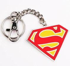 Llavero Superman. Logo clásico