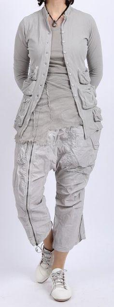rundholz dip - Jacke Stretch Jersey mit Taschen grey pigment - Sommer 2016