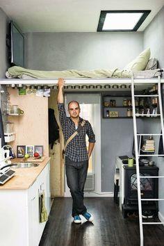 79 mejores imágenes de Cuartos pequeños | Bedroom ideas, Home decor ...