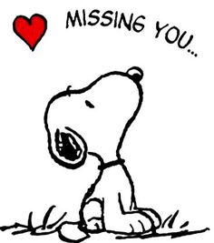 ᐅ I Miss You images, greetings and pictures for WhatsApp (Page Snoopy Love, Charlie Brown And Snoopy, Snoopy And Woodstock, Peanuts Snoopy, Peanuts Cartoon, Miss You Images, Love Ecards, Healing Hugs, Snoopy Quotes