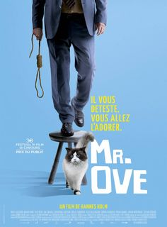 En man som heter Ove (A Man Called Ove) French Poster