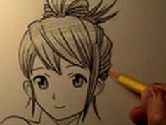 How to Draw Manga Hair, 4 Different Ways