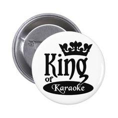 King of Karaoke button