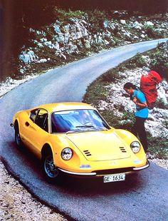1970 Ferrari Dino 246 GT. Click to see more - http://gigatop.eu/ - http://goo.gl/EtVGOu