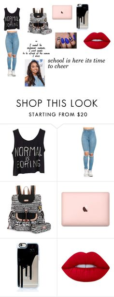 """""""school time"""" by laurenj709 on Polyvore featuring Sakroots and Lime Crime"""
