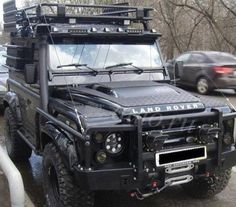 Beautiful Russian Modified Puma Defender 90 JBK Land Rovers