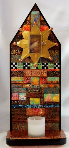 Altar of Contemplation by Mary Jane Chadbourne/Desert Dream Studios - available at Urban Ranch General Store, Las Vegas