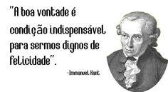 filosofo mais famosos Immanuel Kant