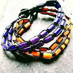 1 bracelet for - Depop 90s Style, Ceramic Beads, Beach Jewelry, 90s Fashion, Beachwear, Surfing, Colour, Bracelets, Leather