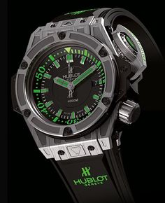 Hublot Diver 4000M. This is nuts! 4000M deep !