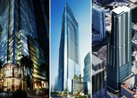 The owner of a downtown Miami Courtyard Marriott is proposing redeveloping the site into an mixed-use tower. Miami Architecture, Courtyard Marriott, Downtown Miami, Tower, Rook, Computer Case, Building