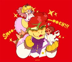 if nintendo will dress them in wedding clothes but not give them a poly wedding then i shall take the chance with mine own two hands Super Mario Bros, Super Mario Smash, Nintendo Super Smash Bros, Super Mario Brothers, Mario Fan Art, Mario Bros., Mario And Luigi, Mario Kart, Batman And Robin Costumes