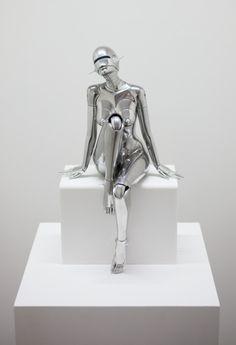 """highpulp:  """" Hajime Sorayama @ NANZUKA Gallery  """""""