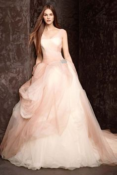 White by Vera Wang, Exclusively at David's Bridal: Style VW351157