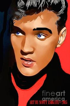 Art Print by Scott Ashgate. All prints are professionally printed, packaged, and shipped within 3 - 4 business days. Bruce Lee Art, Thing 1, Beautiful Voice, Popular Music, Graphic Illustration, Illustrations, Unique Photo, Pattern Wallpaper, Elvis Presley