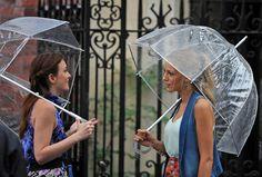 love the umbrellas    Blair & Serena