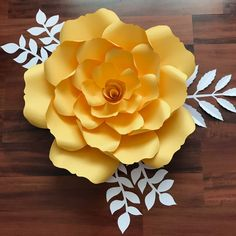 SVG Petal 135 Template for DIY Giant Paper Flowers with