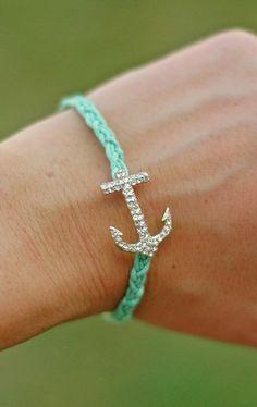 Pastel Anchor Bracelet