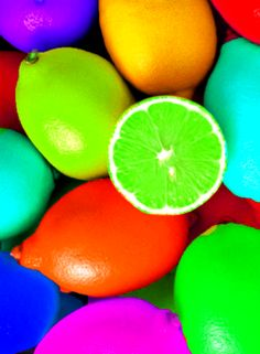 Rainbow colors ❖de l'arc-en-ciel❖❶Toni Kami Colorful citrus fruit