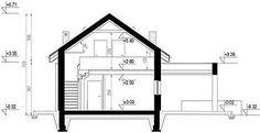 Projekt domu letniskowego HomeKoncept-66 A DL 107,1 m2 - koszt budowy 191 tys. zł - EXTRADOM Good House, Small House Design, Floor Plans, Home, Design For Small House, Ad Home, Small Home Design, Homes, Haus