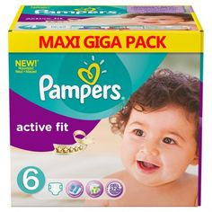 Taille 6 active fit 120 couches b/éb/é Couches Pampers
